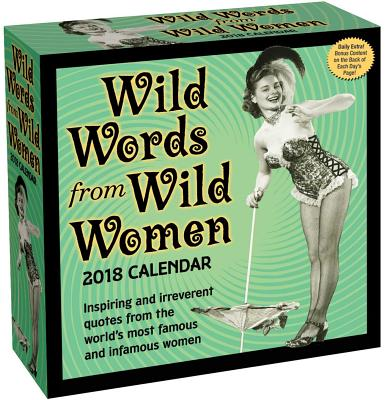 Wild Words from Wild Women 2018 Day-to-Day Calendar Cover Image