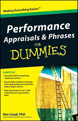 Performance Appraisals & Phrases for Dummies Cover Image