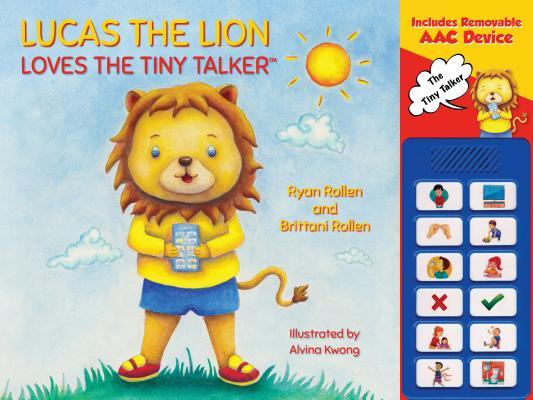 Lucas the Lion Loves the Tiny Talker(tm) Cover Image