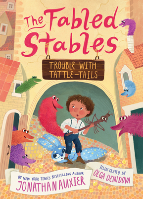 Trouble with Tattle-Tails (The Fabled Stables Book #2) cover