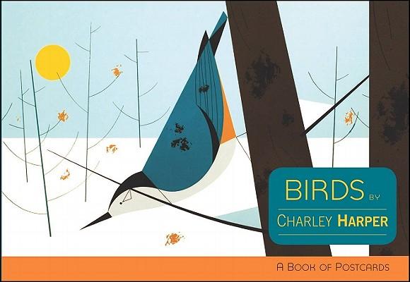 Postcard Bk-Charley Harper Bir Cover Image