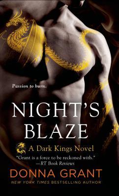 Night's Blaze: A Dark Kings Novel Cover Image