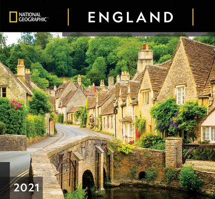 Cal 2021- National Geographic England Wall Cover Image