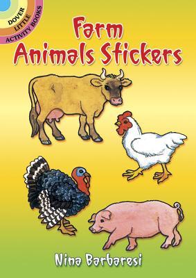 Farm Animals Stickers (Dover Little Activity Books) Cover Image