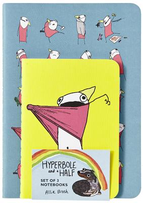 Hyperbole and a Half Notebooks (Set of 3) Cover Image