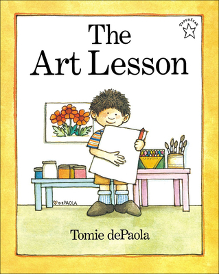 The Art Lesson Cover