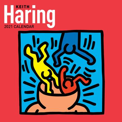 Keith Haring 2021 Wall Calendar Cover Image