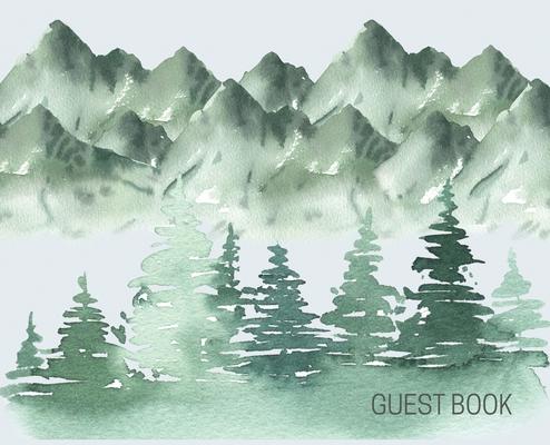 Landscape Guest Book to sign (Hardback) Cover Image