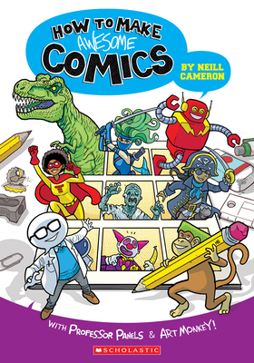 How to Make Awesome Comics Cover Image