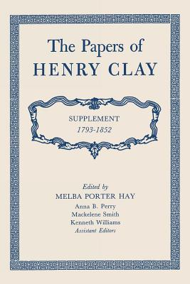 Cover for The Papers of Henry Clay