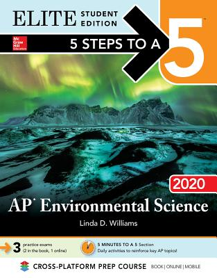 5 Steps to a 5: AP Environmental Science 2020 Elite Student Edition Cover Image