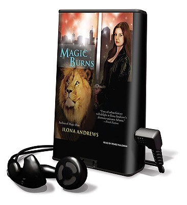 Magic Burns [With Earbuds] (Playaway Adult Fiction) Cover Image