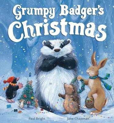 Grumpy Badgers Christmas Cover