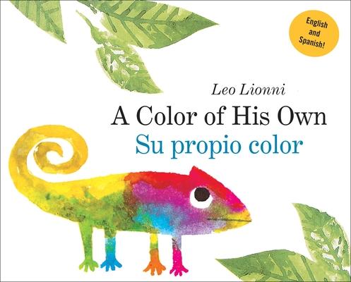 Su propio color (A Color of His Own, Spanish-English Bilingual Edition) Cover Image