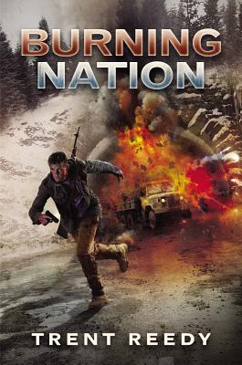 Cover for Burning Nation (Divided We Fall, Book 2)