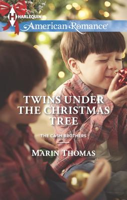 Twins Under the Christmas Tree Cover