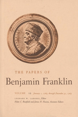 Cover for The Papers of Benjamin Franklin, Vol. 12