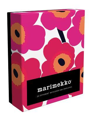 Marimekko Notes: 20 Different Unikko Notecards and Envelopes Cover Image