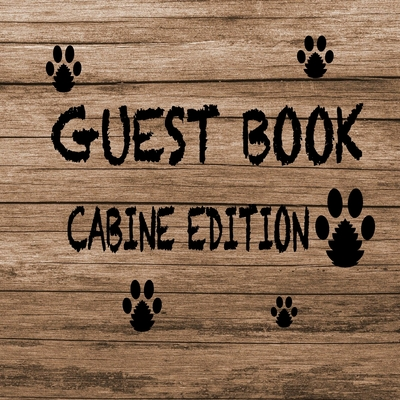 Guest Book Cabine Edition Cover Image