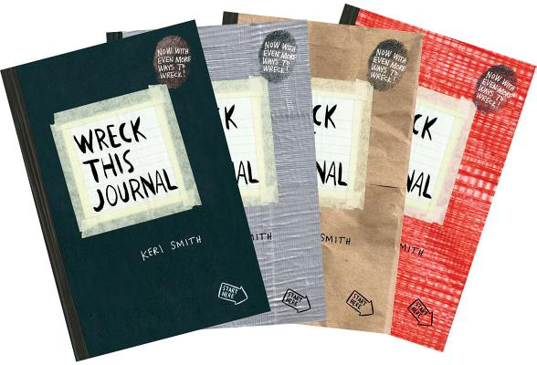 Wreck This Journal Bundle Set Cover Image