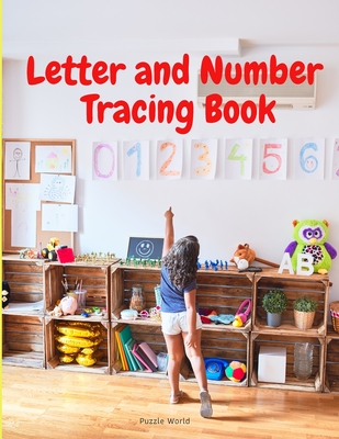 Letter and Number Tracing Book Cover Image