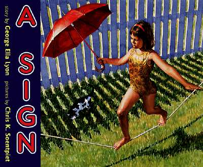 Cover for A Sign