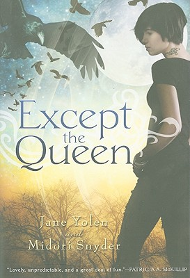 Cover for Except the Queen