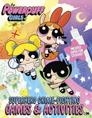Superhero Crime-Fighting Games & Activities Cover Image