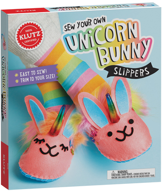 Sew Your Own Unicorn Bunny Slippers Cover Image