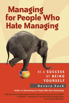 Managing for People Who Hate Managing Cover