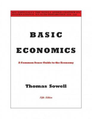 Basic Economics Cover Image