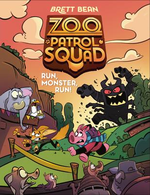 Run, Monster, Run! #2 (Zoo Patrol Squad #2) Cover Image