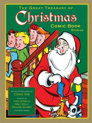 The Great Treasury of Christmas Comic Book Stories Cover