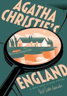 Agatha Christie's England: A Map and Guide from Herb Lester cover