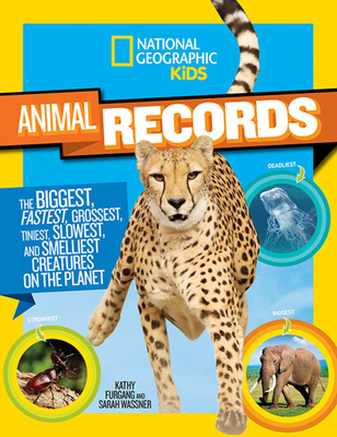 Cover for National Geographic Kids Animal Records