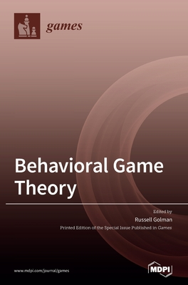 Behavioral Game Theory Cover Image
