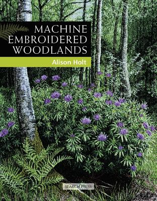 Cover for Machine Embroidered Woodlands