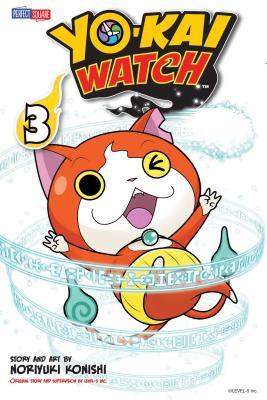 YO-KAI WATCH, Vol. 3 Cover Image