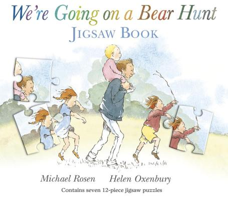 We're Going on a Bear Hunt: Jigsaw Book Cover Image