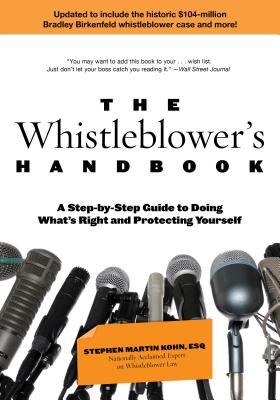 The Whistleblower's Handbook Cover