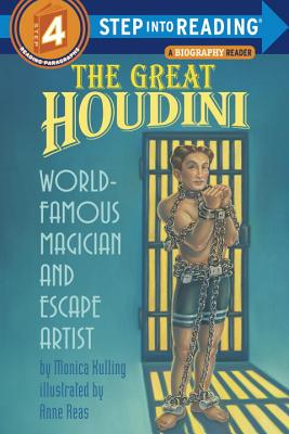 The Great Houdini: World Famous Magician & Escape Artist (Step into Reading) Cover Image