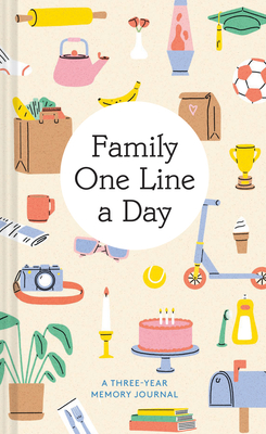 Family One Line a Day: A Three-Year Memory Journal Cover Image