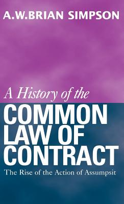 Cover for A History of the Common Law of Contract
