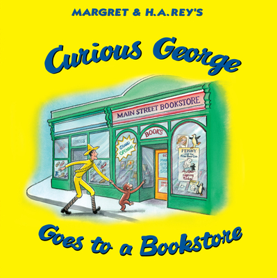 Curious George Goes to a Bookstore Cover Image