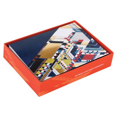 Frank Lloyd Wright Designs Luxe Notecard Set Cover Image