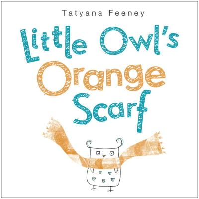 Little Owl's Orange Scarf Cover