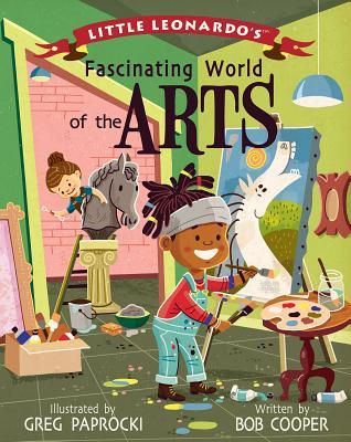 Little Leonardo's Fascinating World Art Cover Image