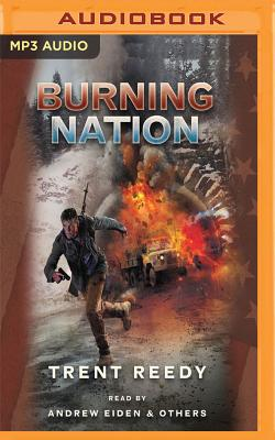 Cover for Burning Nation (Divided We Fall #2)