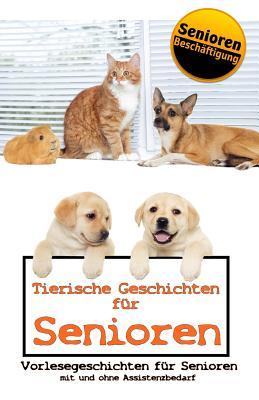 Tierische Geschichten für Senioren Cover Image