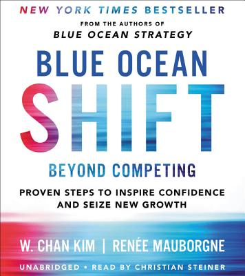 Blue Ocean Shift Lib/E: Beyond Competing - Proven Steps to Inspire Confidence and Seize New Growth Cover Image